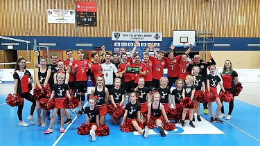TV Baden Bundesligateam mit den cheertastics © Turnverein Baden e.V.